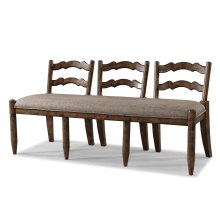 436-824 BENCH Southern Pines Ladder Back Bench