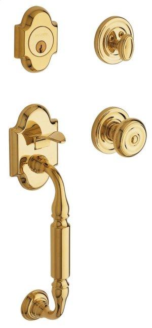 Lifetime Polished Brass Canterbury Sectional Trim
