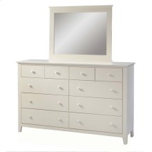 Pine 10 Drawer Dresser