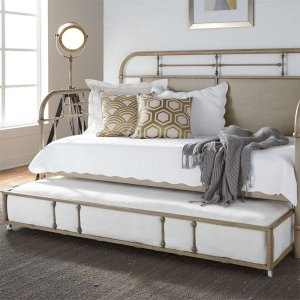 LIBERTY FURNITURE INDUSTRIESTwin Metal Trundle - Vintage Cream