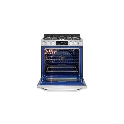 LG STUDIO 6.3 cu. ft. Gas Single Oven Slide-in Range with ProBake Convection®