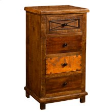 Belina 4 Drawer Cabinet With X
