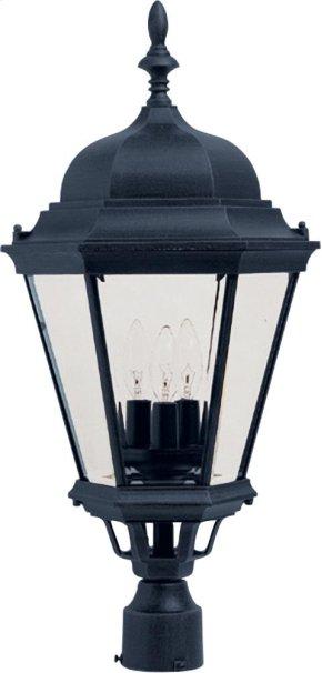 Westlake Cast 3-Light Outdoor Pole/Post Lantern