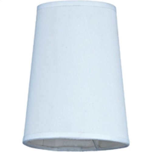 Cascade Collection Five-Inch Fabric Shade for Casc