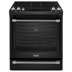 MaytagBlack Ice Maytag® 5.8 cu. ft. Front Control Gas Range with the FIT System