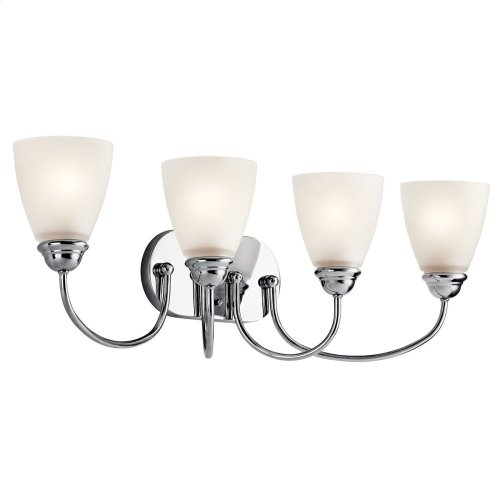 Jolie 4 Light Vanity Light Chrome