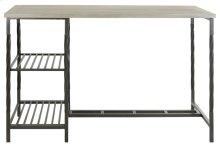 Jayden Desk With Shelves - French Grey