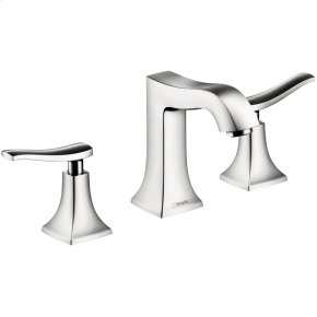 Chrome Widespread Faucet 100 with Pop-Up Drain, 1.2 GPM