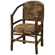 Hoop Chair - Natural Hickory - Standard Fabric