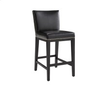 Vintage Counter Stool - Black
