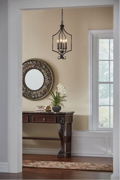Bixler Collection Bixler 4 Light Large Foyer Pendant NI