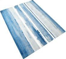 Azure Watercolor Rug 9x12