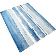 Azure Watercolor Rug 9x12
