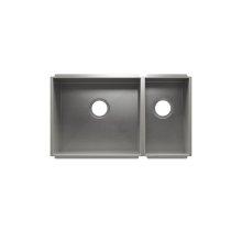 """UrbanEdge® 003659 - undermount stainless steel Kitchen sink , 18"""" × 16"""" × 10""""  9"""" × 16"""" × 8"""""""