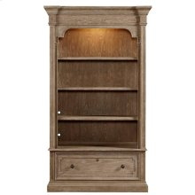 Wethersfield Estate Lateral File Bookcase - Brimfield Oak