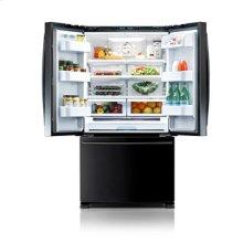 25.8 cu. ft. french door refrigerator - black