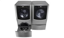 6.3 Total Capacity LG Twinwash Bundle With LG Sidekick and Electric Dryer