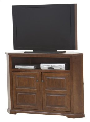 "55"" TV/VCR Tall Corner Cart"