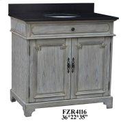 """Isabelle 2 Door 36"""" Vanity Sink Product Image"""