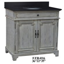 """Isabelle 2 Door 36"""" Vanity Sink"""