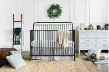 Vintage Iron Winston 4-in-1 Convertible Crib