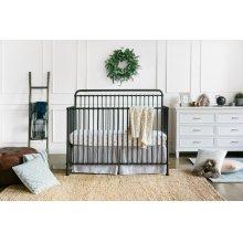 Vintage Iron Winston 4-in-1 Convertible Crib