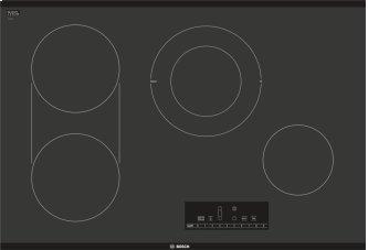 800 Series Electric Cooktop 30'' Black NET8068UC