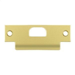 """ANSI T- Strike, 4 7/8"""" x 1 1/4"""", w/ Hole - Polished Brass"""