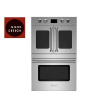"30"" Double Electric Wall Oven with French & Drop Down Doors"