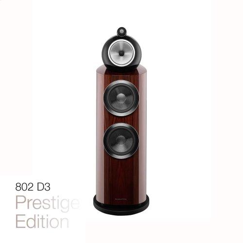 Gloss Black 802 D3 Floorstanding speaker
