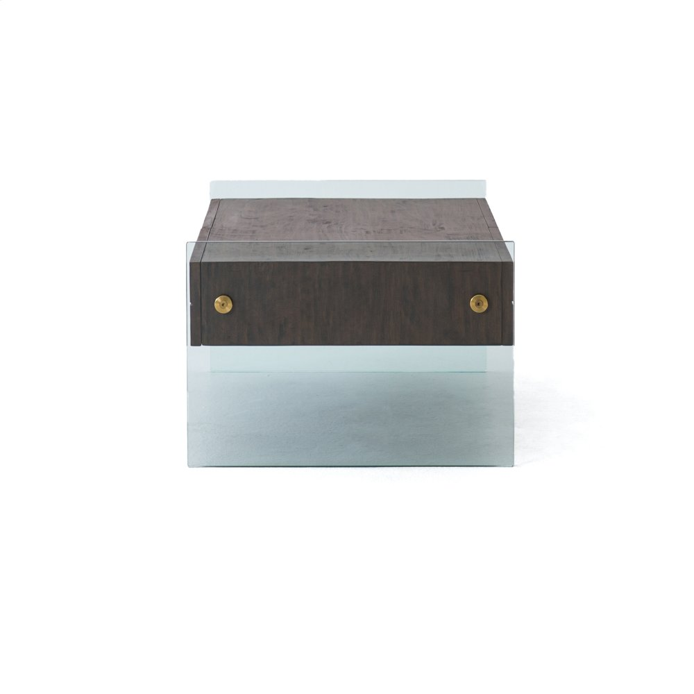 Cinder Brown Finish Houston Coffee Table