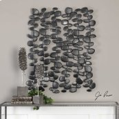 Skipping Stones Metal Wall Decor