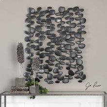 Skipping Stones Metal Wall Decor