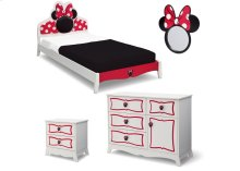 Minnie Mouse Wooden Twin Bedroom Collection - Style-1