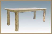 Montana Log 4 Post Dining Table
