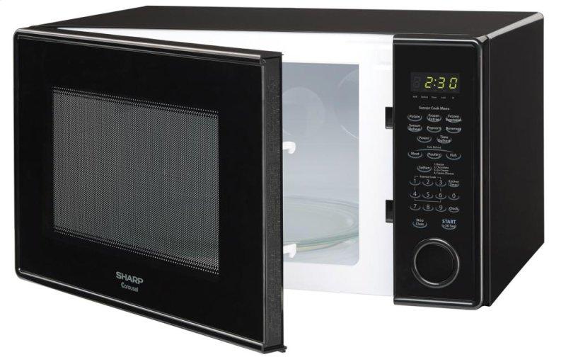 Hidden Additional Sharp Carousel Countertop Microwave Oven 1 3 Cu Ft 1000w Black