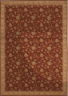 Hard To Find Sizes Sultana Su01 Ruby Rectangle Rug 5' X 8'