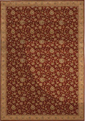 Hard To Find Sizes Sultana Su01 Ruby Rectangle Rug 9'8'' X 14'