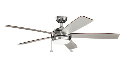 "Starkk LED 60"" Fan Polished Nickel"