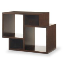 Paragon Club Geometric Modular Bookcase