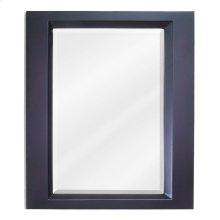 """23"""" x 28"""" espresso mirror with beveled glass"""