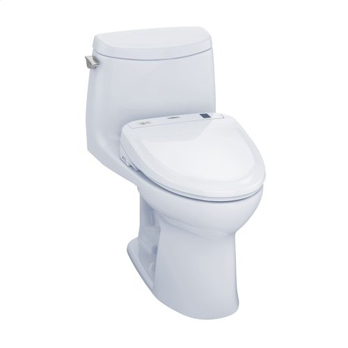 UltraMax II 1G Connect+ S350e One-Piece Toilet - 1.0 GPF - Cotton