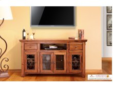 TV Stand w/ 4 Doors & 2 Drawers