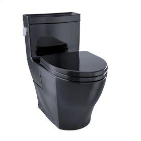 Legato One-Piece Toilet, 1.28GPF, Elongated Bowl - Ebony