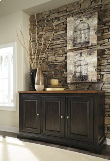 Dining Room Server Shardinelle - Two-tone Collection Ashlet at Aztec Distribution Center Houston Texas
