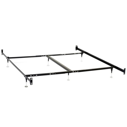 Bolt-on Bed Frame for California King Headboards and Footboards