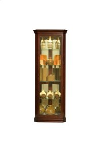 Victorian Cherry Mirrored Corner Curio Product Image