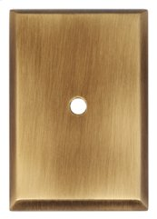 Traditional Backplate A610-38 - Antique English Matte