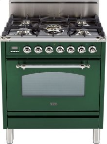 "Emerald Green - Nostalgie 30"" Gas Range"