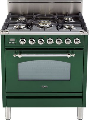 "Emerald Green - Nostalgie 30"" Gas Range"